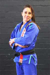 Lilo Asensi black  belt 2. Degree Brazilian Jiu Jitsu